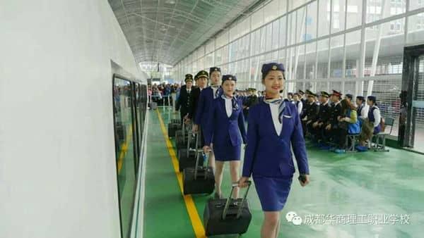 初三毕业学生读高铁专业就业如何 成都高铁学校
