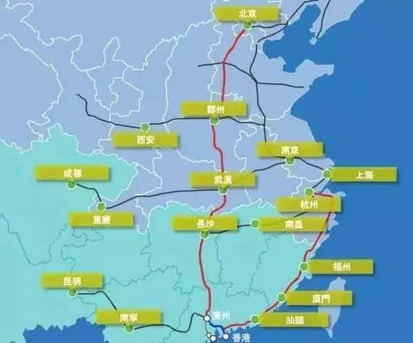 下月昆明到香港开通高铁,全程仅需7小时!快来坐高铁吧